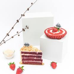 Red Velvet Cake or Red Velvet Pie? Which one do you prefer?🤔