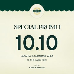 Are you ready for 10.10 Special Promo?? 🥰🥳 Stay tuned & turn on your notification so you won't miss it!  *Further info will be revealed tomorrow on our instagram.