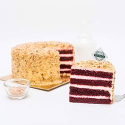 Don't let the last day of 2020 goes by without having a piece of our Red Velvet Cake. We promise you won't regret it 🥰👌🏻