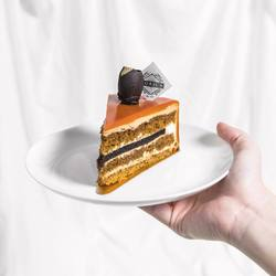 Once you've tried our Latte Brew Cake, you'll want to eat it again and again. 🥰 - Consist of coffee sponge, chantily cream, coffee jelly, coffee mousse, and mocha sponge.