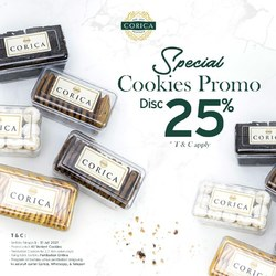 If you're looking for some snacks to accompany your quarantine days at home, these cookies are just the thing! Lucky you, we also have this special promo going on (T&C apply.) Grab them now!🥳