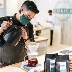 How do you like your coffee? Let our barista make the best one for you! 🤗