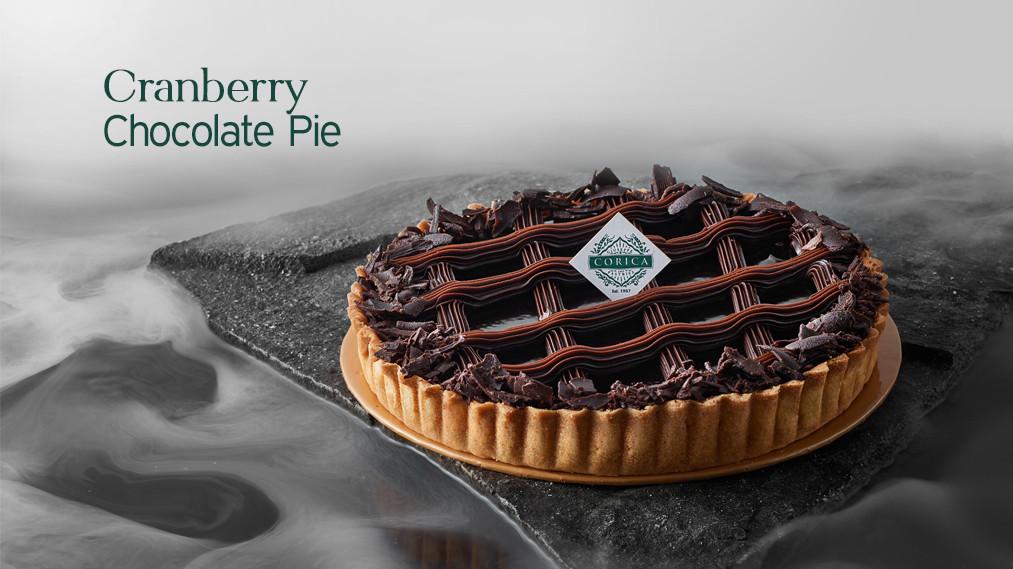 Cranberry Chocolate Pie